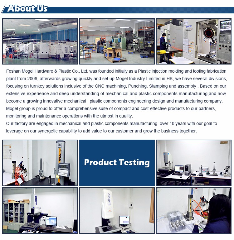 Mogel-Best High Quality Aluminum Forming Or Welding Laser Cut Parts Manufacture-5
